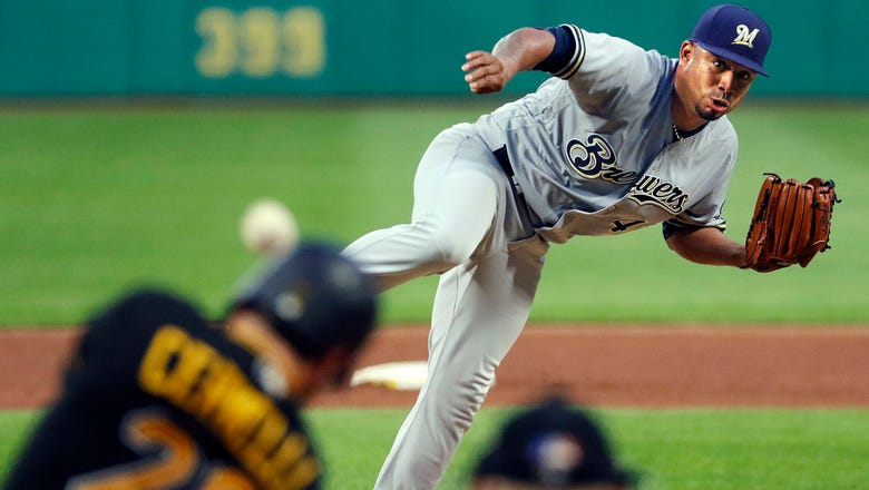 Brewers' rally falls short in 9th, lose 4-3 to Pirates