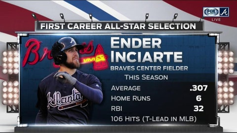 1. Hey, now. You're an All-Star, Ender Inciarte