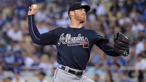 Braves starting pitcher Mike Foltynewicz (8-5, 3.87)