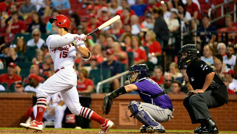Grichuk homers for fourth straight game as Cardinals defeat Rockies 8-2