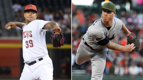 Today's starting pitchers: RHP Taijuan Walker vs. RHP Mike Foltynewicz