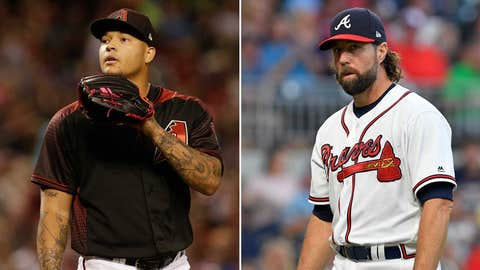 Today's starting pitchers: RHP Taijuan Walker vs. RHP R.A. Dickey