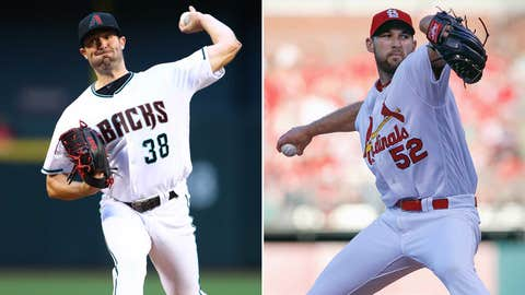 Today's starting pitchers: LHP Robbie Ray vs. RHP Michael Wacha