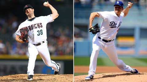Today's starting pitchers: LHP Robbie Ray vs. LHP Rich Hill