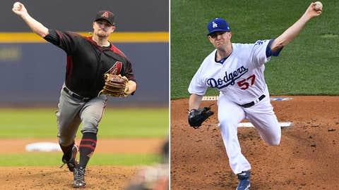 Today's starting pitchers: RHP Zack Godley vs. LHP Alex Wood