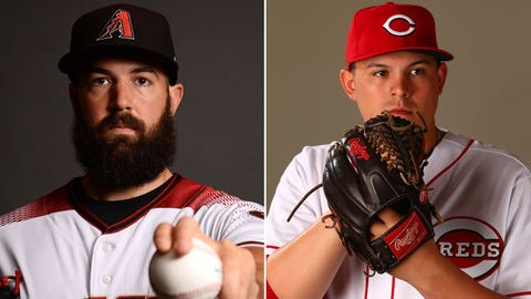 Today's starting pitchers: LHP Robbie Ray vs. RHP Sal Romano