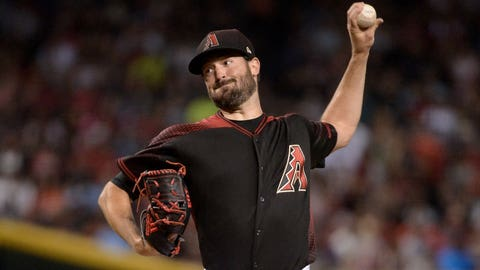 D-backs starting pitcher Robbie Ray (8-4, 2.97 ERA)