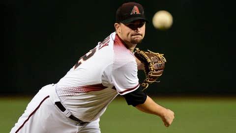 D-backs starting pitcher Zack Godley (3-2, 2.67 ERA)