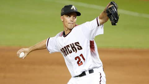 D-backs starting pitcher Zack Greinke (11-4, 2.86 ERA)
