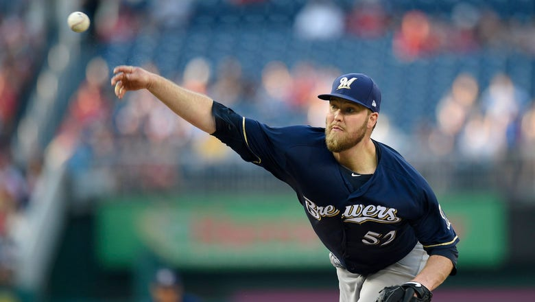Nelson stellar in Brewers' loss to Nationals