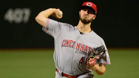Reds starting pitcher Tim Adleman (5-7, 4.99 ERA)