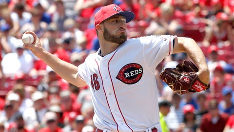 Reds starting pitcher Tim Adleman (5-5, 4.67 ERA)