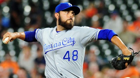 Royals place RHP Soria (oblique) on disabled list