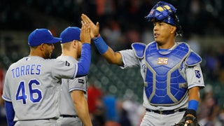Salvador Perez praises Jakob Junis' performance in extra innings