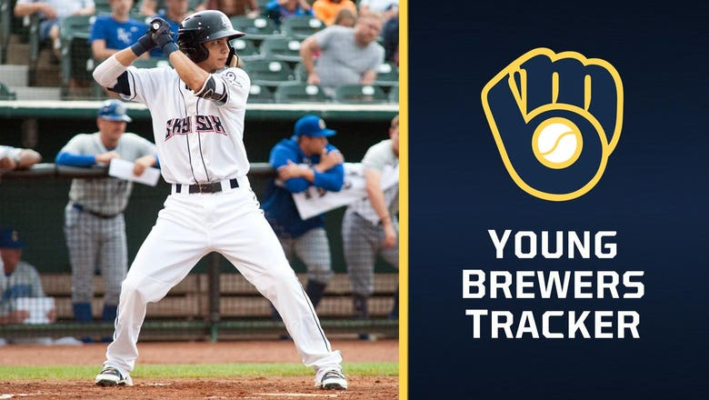 Brewers prospect Dubon finding footing at Triple-A