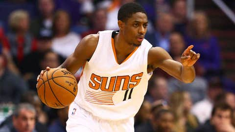 Brandon Knight averaged a career-low 11.0 points per game last season with the Suns.	 Mark J. Rebilas-USA TODAY Sports