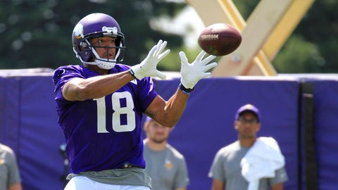 WR Michael Floyd, unrestricted