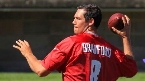 Vikings quarterback Sam Bradford: 'I
