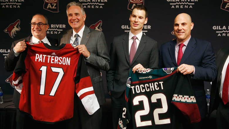 Coyotes change direction with Tocchet, Patterson hires
