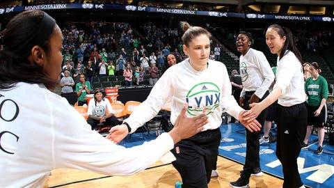 Lynx star Whalen to be Gophers women's head coach