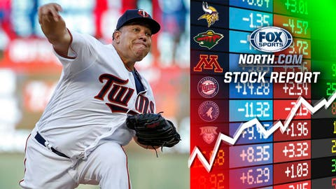 Bartolo Colon, Twins pitcher (DOWN ↓)