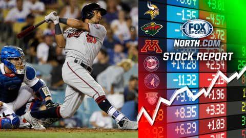 Eddie Rosario, Twins outfielder (↑ UP)