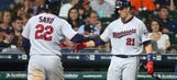 Twins bounce back after tough loss, topple Astros 4-2