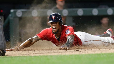 Play of the (Mid) Year: Byron Buxton scores from first base on a single