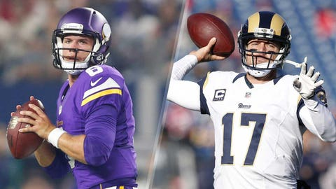 Quarterback: Taylor Heinicke vs. Case Keenum