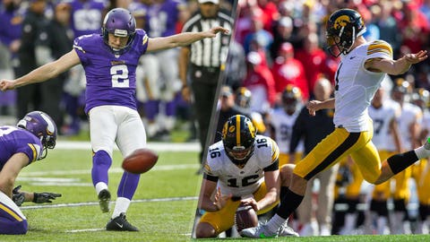 Kicker: Kai Forbath vs. Marshall Koehn