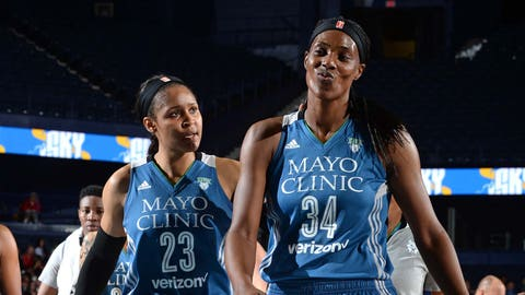 Sylvia Fowles, Lynx center (↑ UP)