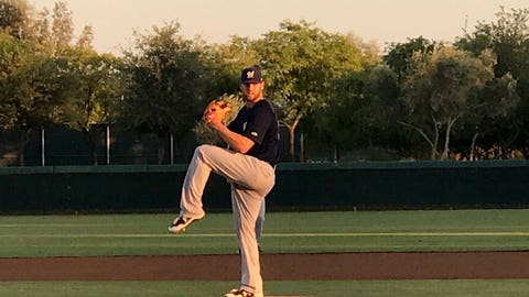 Adrian Houser, Brewers pitcher