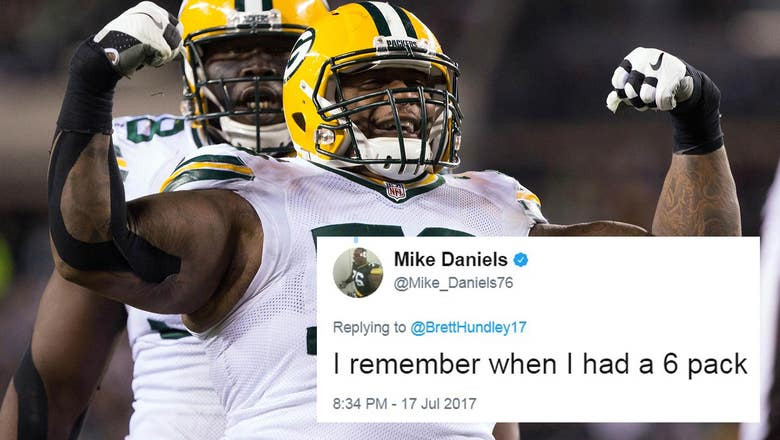Top Tweets: Packers' Mike Daniels reminisces about his 6-pack