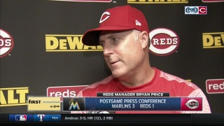 Bryan Price: Rough luck was a factor, but not excuse for Reds' loss