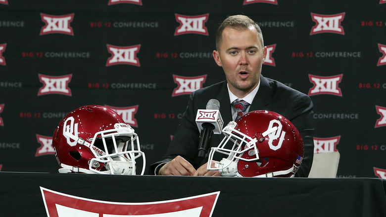 Riley's 'whirlwind' to youngest FBS head coach with Sooners