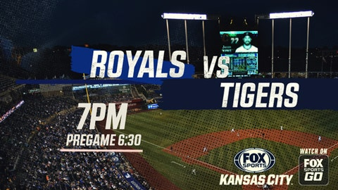 Royals edge Tigers 4-3