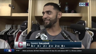 Danny Salazar hopes his return can help Tribe focus on other areas at deadline