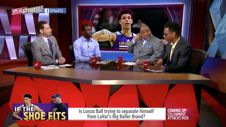 Is Lonzo Ball trying to separate himself from LaVar's Big Baller Brand? | SPEAK FOR YOURSELF