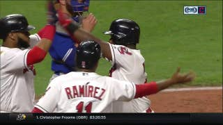 HIGHLIGHTS: Indians explode for eight runs in seventh inning outburst