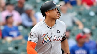 Giancarlo Stanton ties Aaron Judge for MLB lead in homers