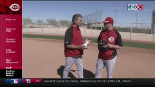 Tech Talk: Zack Cozart gives a fielding tutorial