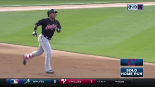 HIGHLIGHTS: Ramirez, Santana, Brantley go yard in Indians' win