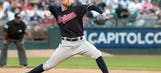 Kluber shines early, but A's win on walk-off homer