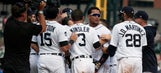 Cabrera's walk in 11th gives Tigers 6-5 win over Blue Jays