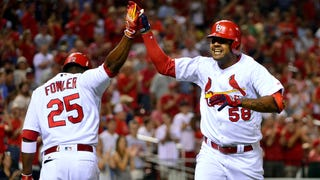 WATCH: Grichuk homers for fourth straight night, Martinez slugs pinch-hit homer