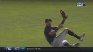 WATCH: Twins outfielder Rosario makes slick sliding catch