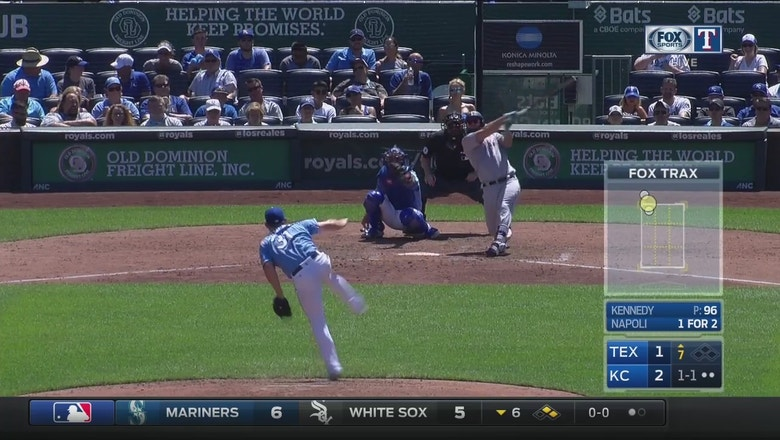 Watch Mike Napoli Ties Game With Huge Home Run Fox Sports