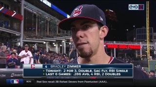 Bradley Zimmer on how he fits in the Indians lineup