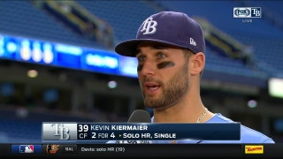 Kiermaier on homer to dead center: I don't do that often