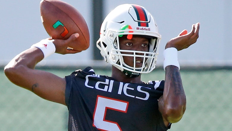 Who's next? Miami begins camp looking for Brad Kaaya's replacement